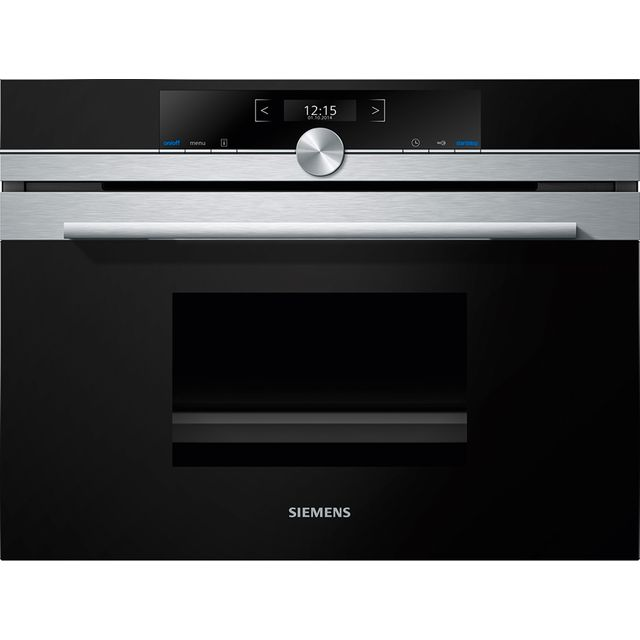 Siemens IQ-700 CD634GAS0B Built In Steam Oven - Stainless Steel - CD634GAS0B_SS - 1