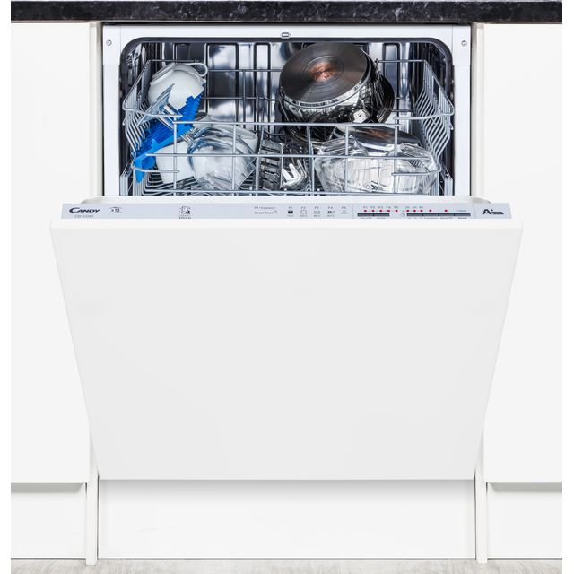 Candy CDI1LS38S Fully Integrated Standard Dishwasher - Silver - CDI1LS38S_BK - 1