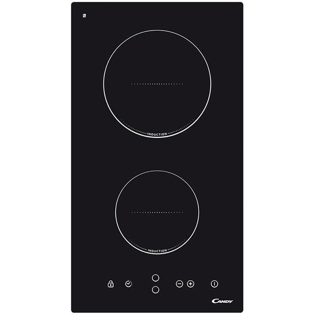 Candy CDI30 29cm Induction Hob - Black - CDI30_BK - 1