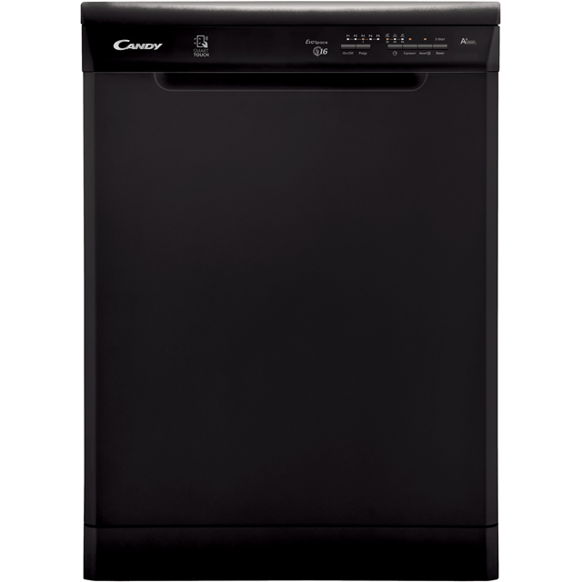 Candy CDP1LS67B Standard Dishwasher - Black Best Price, Cheapest Prices