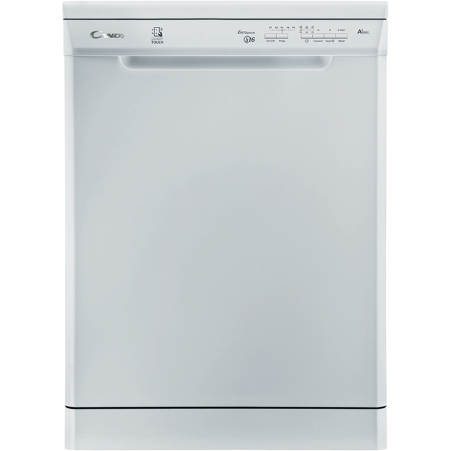 Candy CDP1LS67W Standard Dishwasher - White Best Price, Cheapest Prices