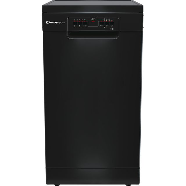 Candy CDPH2L1049B Slimline Dishwasher - Black - E Rated