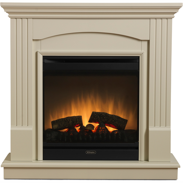 Dimplex Chadwick Optiflame CDW12WWN Log Effect Suite And Surround - Sandstone