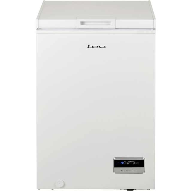 Lec CF100LMk2 Free Standing Chest Freezer in White