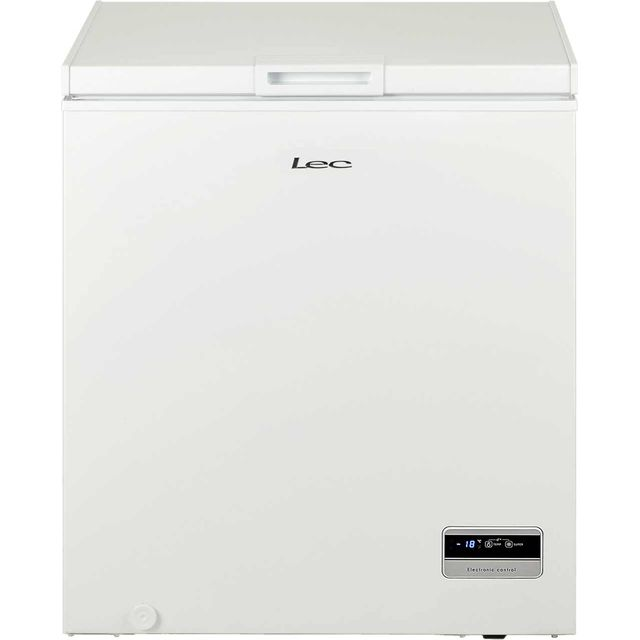 LEC CF150L Chest Freezer - White