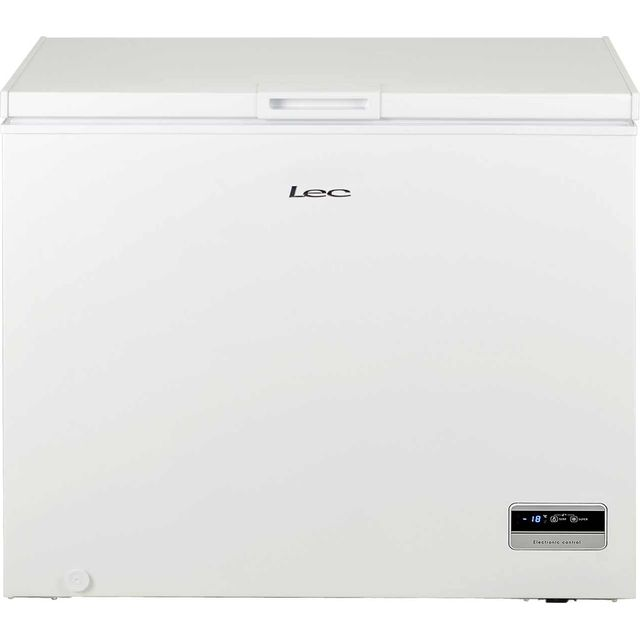 Lec CF250LMk2 Chest Freezer - White - A+ Rated - CF250LMk2_WH - 1
