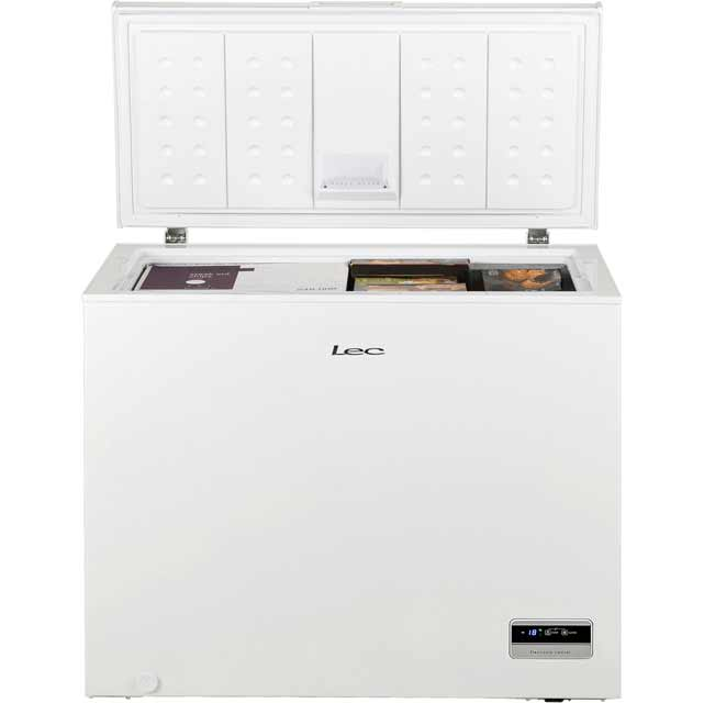 Lec CF250LMk2 Chest Freezer - White - CF250LMk2_WH - 2