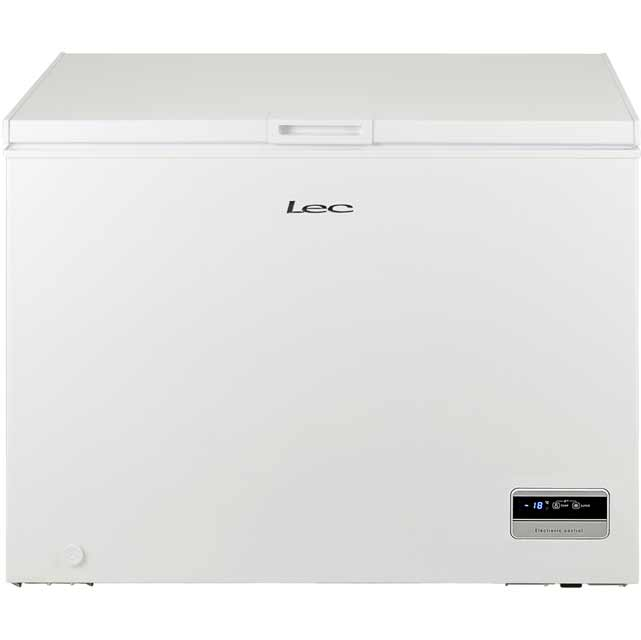 Lec CF300LMk2 Chest Freezer - White - A+ Rated - CF300LMk2_WH - 1