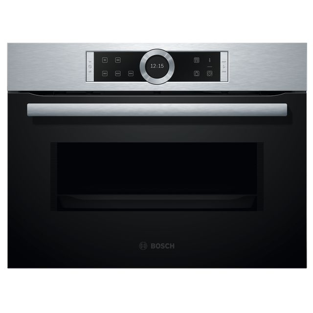 Bosch Serie 8 CFA634GS1B Built In Microwave - Brushed Steel - CFA634GS1B_BS - 1