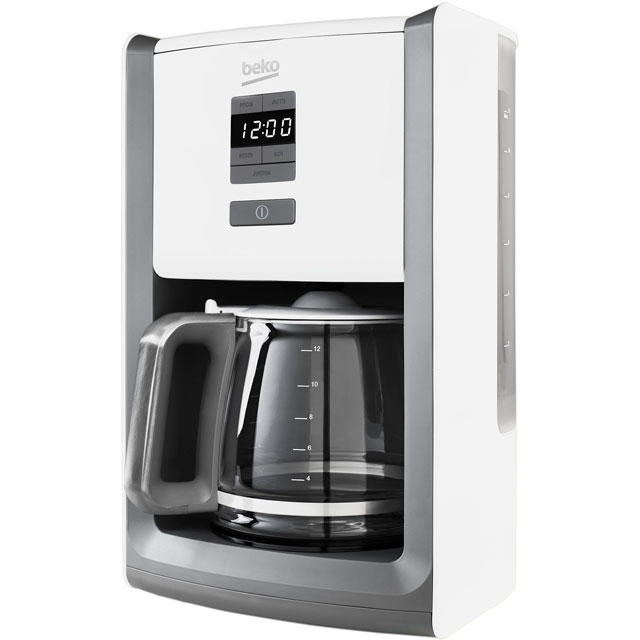 Beko Filter Coffee Machine - White