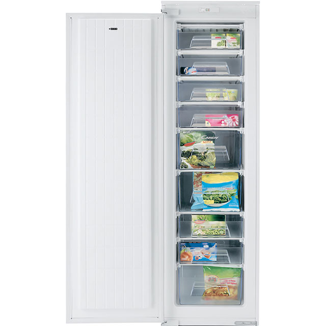 Candy Integrated Upright Freezer with Sliding Door Fixing Kit - A+ Rated