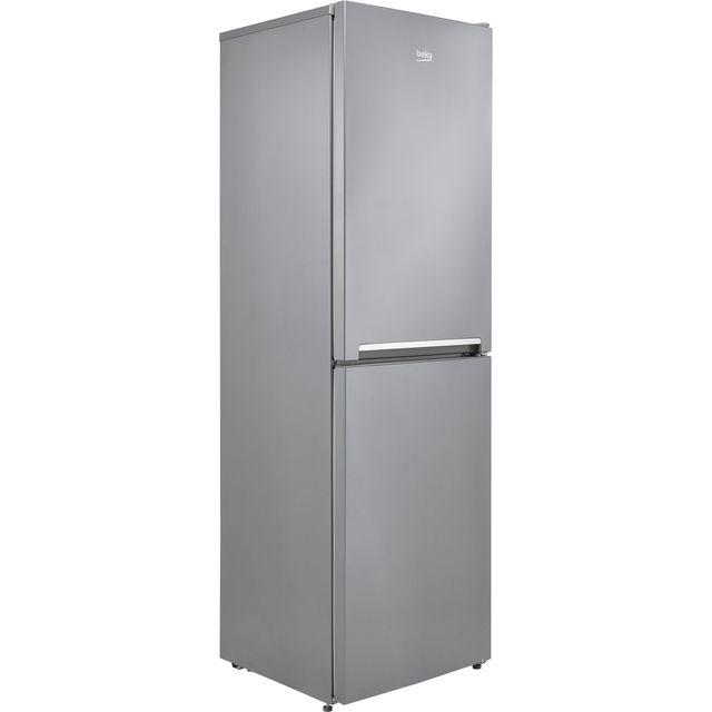 Beko CFG3582S 50/50 Frost Free Fridge Freezer - Silver - F Rated