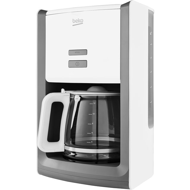 Beko CFM6151W Filter Coffee Machine - White - CFM6151W_WH - 1
