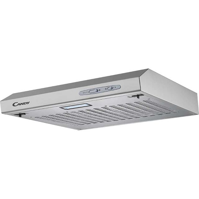 Candy CFT610/5S 60 cm Visor Cooker Hood - Silver - CFT610/5S_SI - 1
