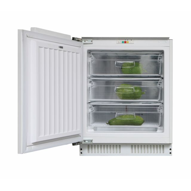 Candy CFU135NEK Integrated Under Counter Freezer with Fixed Door Fixing Kit - A+ Rated - CFU135NEK_WH - 1