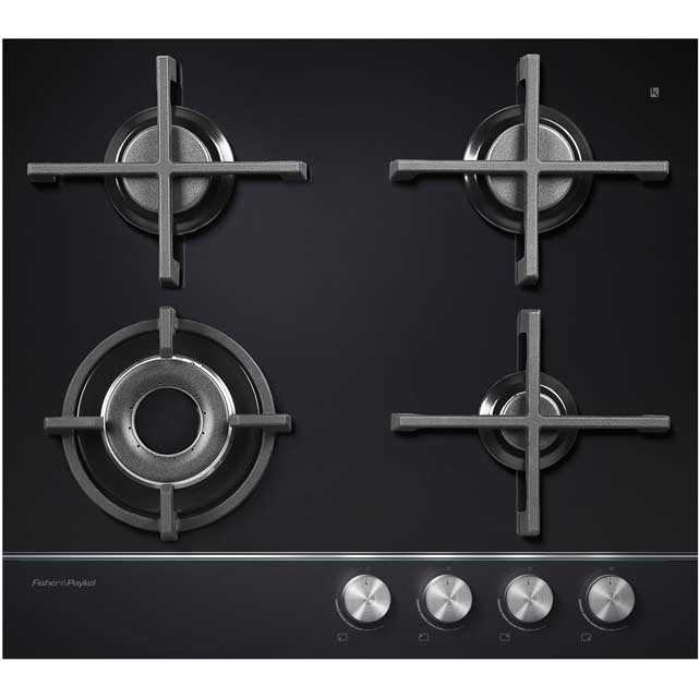Fisher & Paykel CG604DLPGB1 Integrated Gas Hob in Black