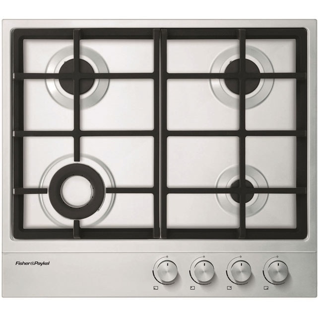 Fisher & Paykel 60cm Gas Hob - Stainless Steel
