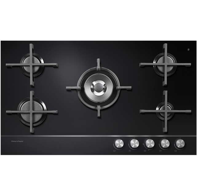 Fisher & Paykel 90cm Gas Hob - Black