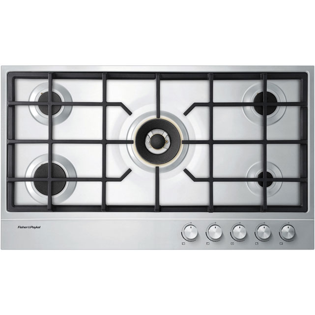 Fisher & Paykel 91cm Gas Hob - Stainless Steel