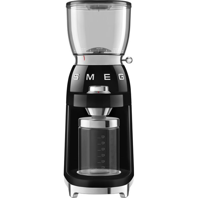 Smeg 50s Retro CGF01BLUK Coffee Grinder - Black