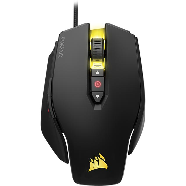Corsair M65 Pro RGB Wired USB Optical Gaming Mouse - Black