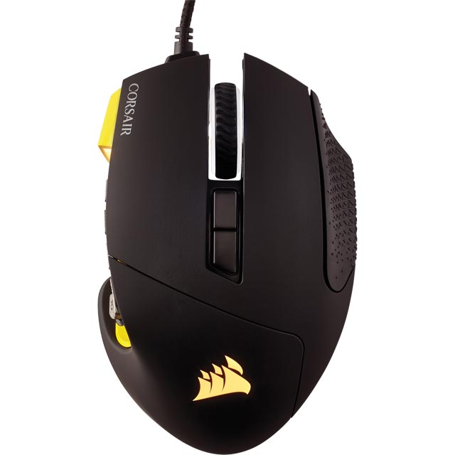 Corsair Scimitar Pro RGB Wired USB Optical Gaming Mouse - Black