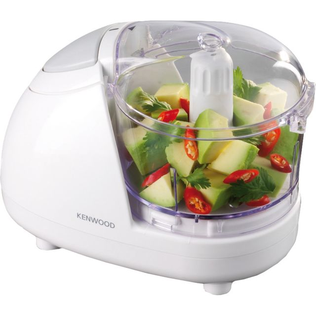 Kenwood CH180A 300 Watt Mini Chopper Mini Food Processor - White