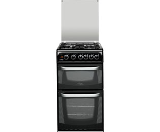 Cannon by Hotpoint CH50GCIK Free Standing Cooker in Black