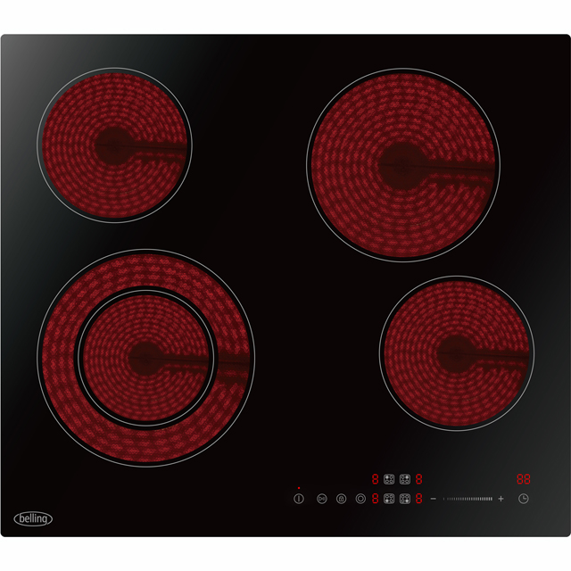 Belling 59cm Ceramic Hob - Black