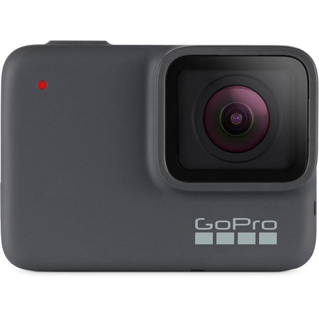 GoPro HERO7 Silver CHDHC-601-RW Action Camera in Grey