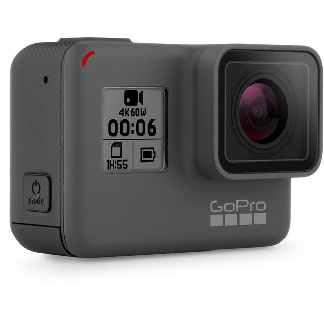 GoPro Hero6 Black CHDHX-601 Action Camera in Black
