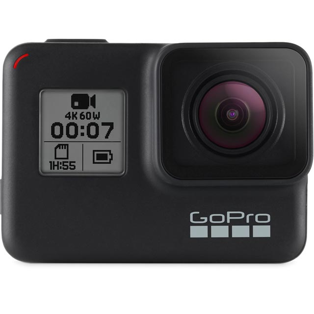 GoPro HERO7 Black CHDHX-701-RW Action Camera in Black