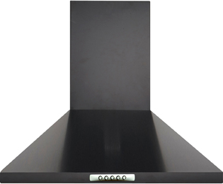 Product image for Newworld Unbranded CHIM60B 60 cm Chimney Cooker Hood - Black