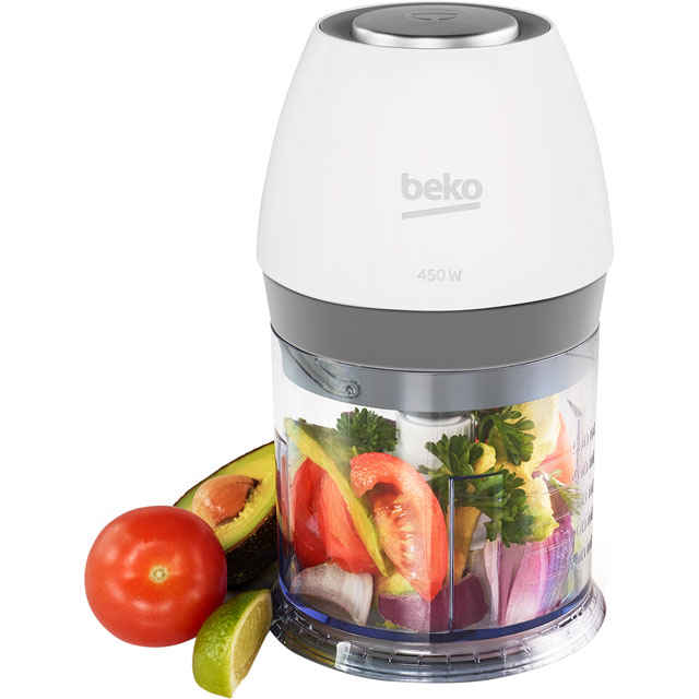 Beko Sense CHP6450W 450 Watt Mini Chopper - White - CHP6450W_WH - 1