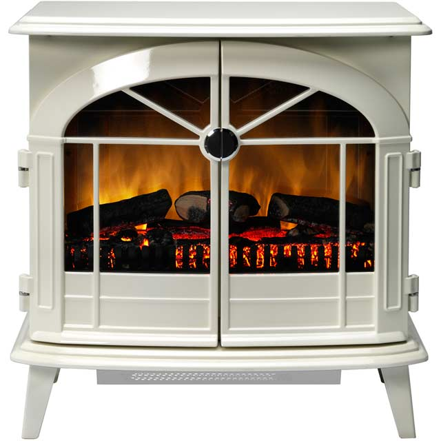 Dimplex Chevalier CHV20N Log Effect / Coal Bed Electric Stove With Remote Control - Cream - CHV20N_CR - 1