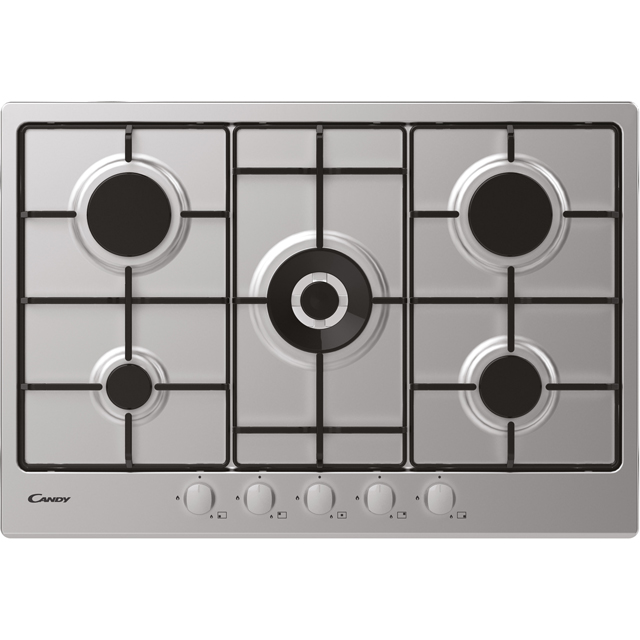 Candy CHW74WX Built In Gas Hob - Stainless Steel - CHW74WX_SS - 1