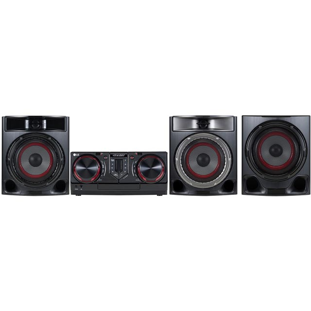 LG CJ45 720 Watt Hi-Fi System with Bluetooth - Black - CJ45 - 1