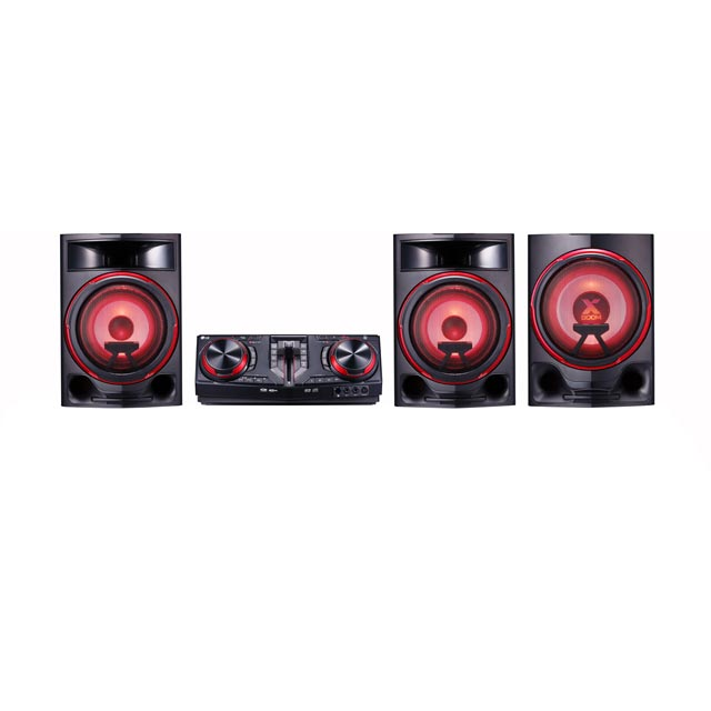LG CJ88 2900 Watt Hi-Fi Party Speaker with Bluetooth - Black - CJ88 - 1