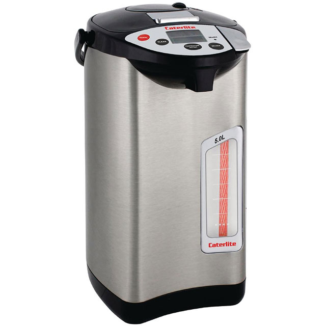 Caterlite Electric Airpot CK649 Commercial Water Dispenser in Silver