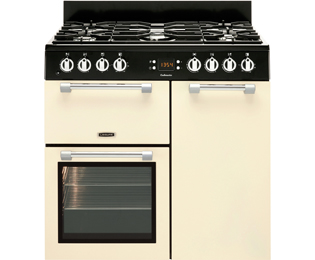Leisure Cookmaster CK90G232C 90cm Gas Range Cooker with Electric Fan Oven - Cream - A+/A Rated