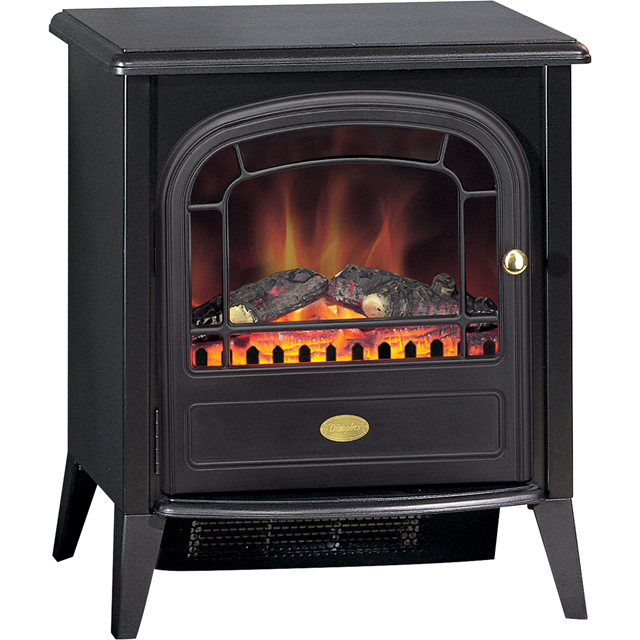 Dimplex Club Log Effect Electric Stove - Black