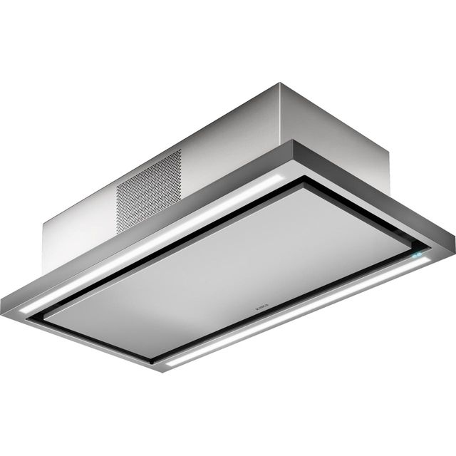 Elica CLOUD-SEVEN-RC 90 cm Ceiling Cooker Hood - Stainless Steel - A++ Rated