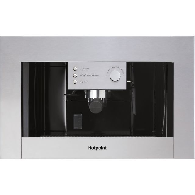 Hotpoint CM5038IXH Built In Bean to Cup Coffee Machine - Stainless Steel