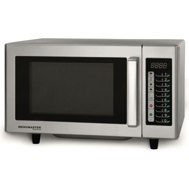Menumaster Light Duty CM518 23 Litre Commercial Microwave - Silver