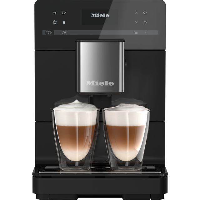 Image of Miele CM5 CM5410 Bean to Cup Coffee Machine - Black