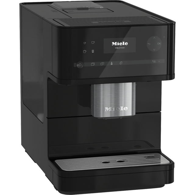 Miele CM6150 Bean to Cup Coffee Machine - Black - CM6150_BK - 1