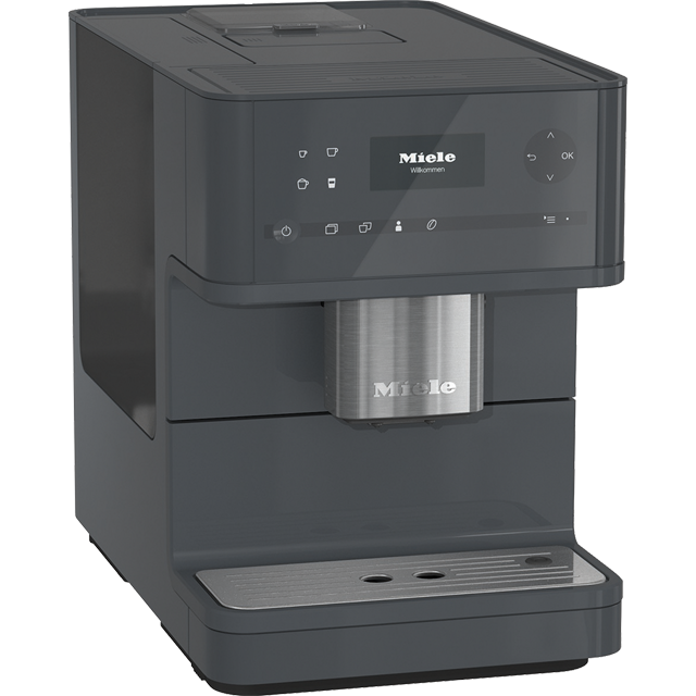 Miele CM6150 Bean to Cup Coffee Machine - Graphite Best Price, Cheapest Prices