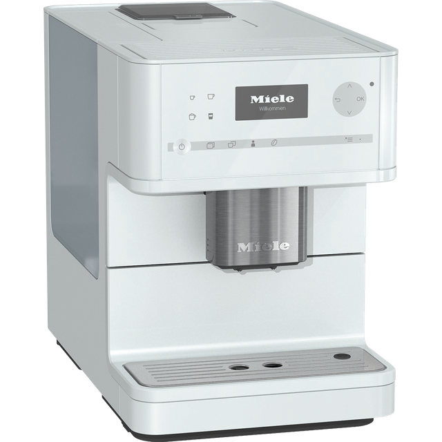 Miele CM6150 Bean to Cup Coffee Machine - White Best Price, Cheapest Prices