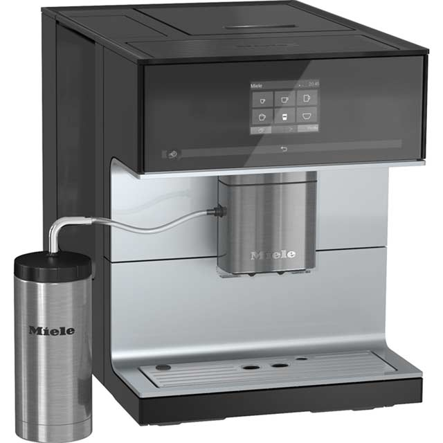 Miele CM7300 Bean to Cup Coffee Machine - Black