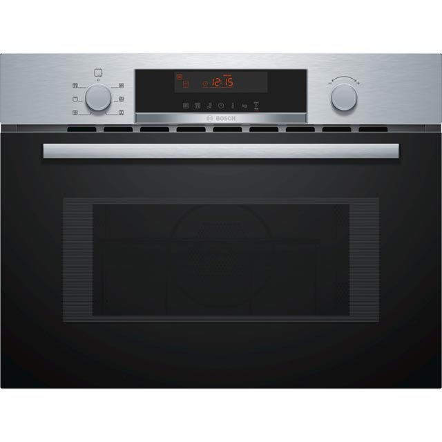Bosch Serie 4 CMA583MS0B Built In Combination Microwave Oven - Stainless Steel